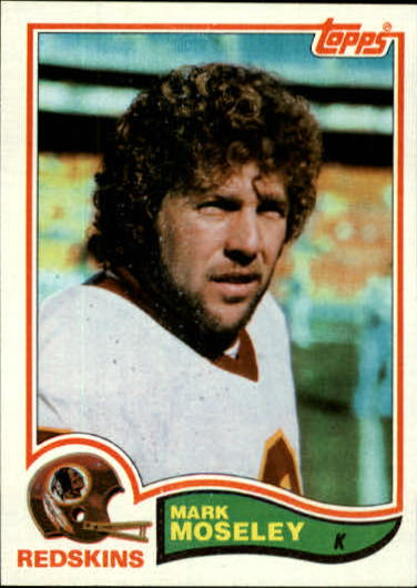 1982 Topps #516 Mark Moseley