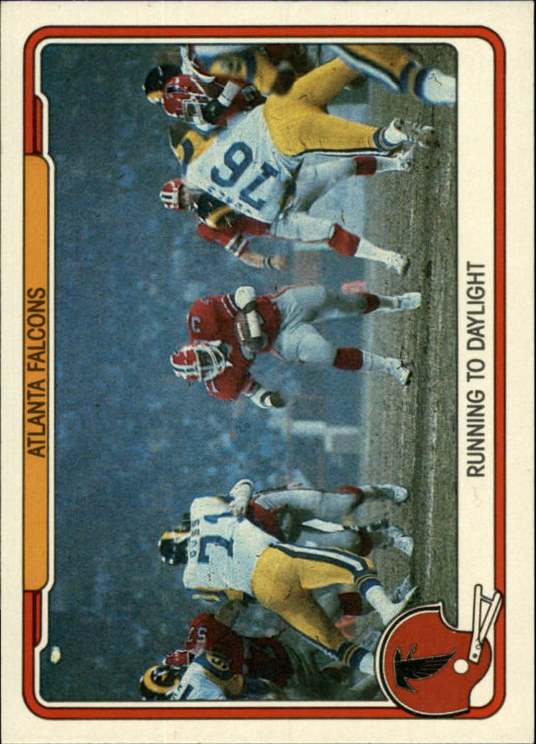 1982 Fleer Team Action #1 Atlanta Falcons