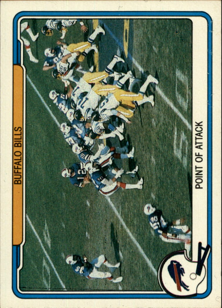 1982 Fleer Team Action #5 Buffalo Bills