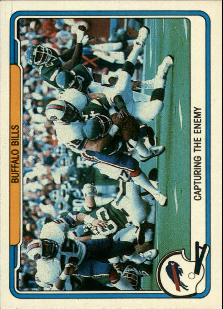 1982 Fleer Team Action #6 Buffalo Bills
