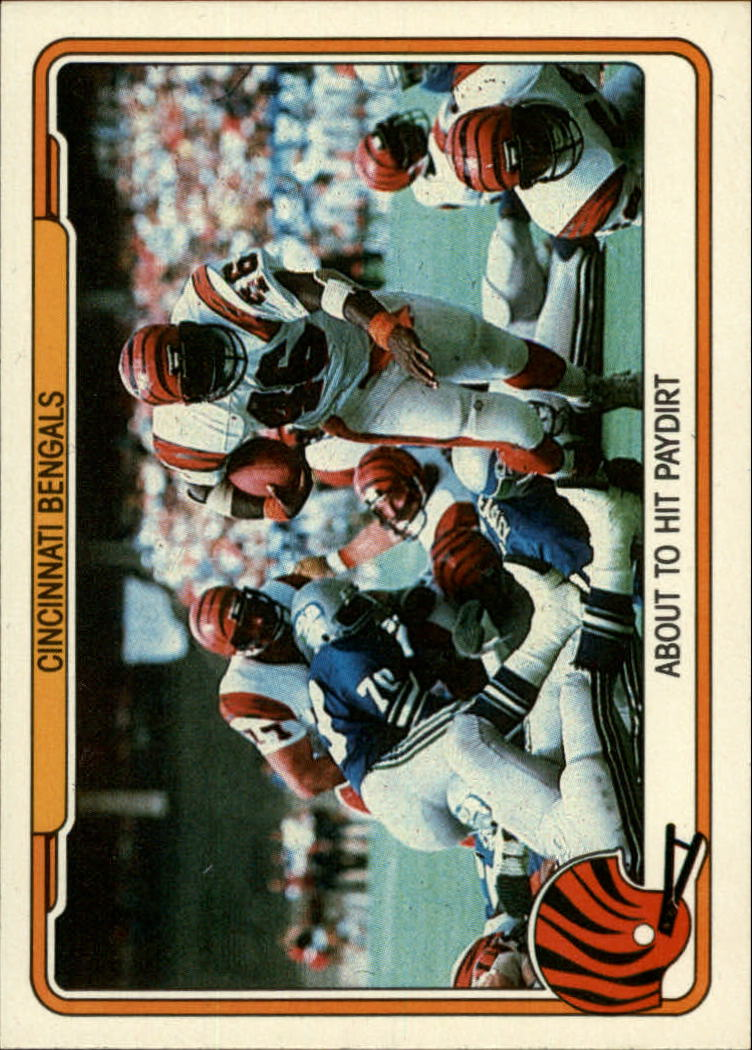 1982 Fleer Team Action #9 Cincinnati Bengals