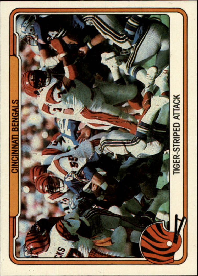 1982 Fleer Team Action #10 Cincinnati Bengals