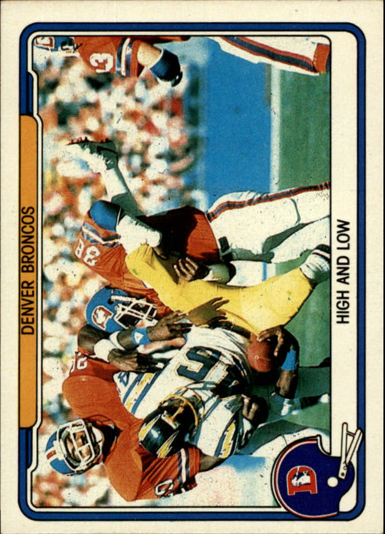 1982 Fleer Team Action #16 Denver Broncos