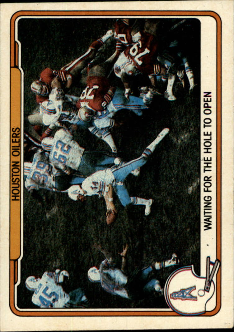1982 Fleer Team Action #21 Houston Oilers