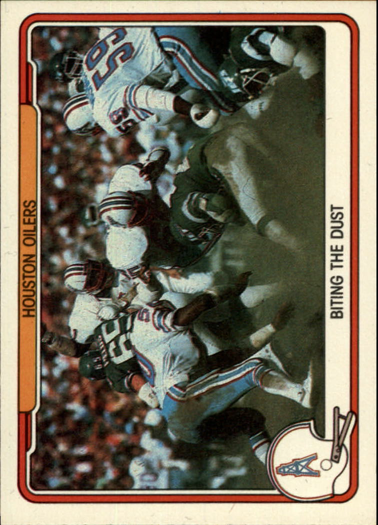 1982 Fleer Team Action #22 Houston Oilers