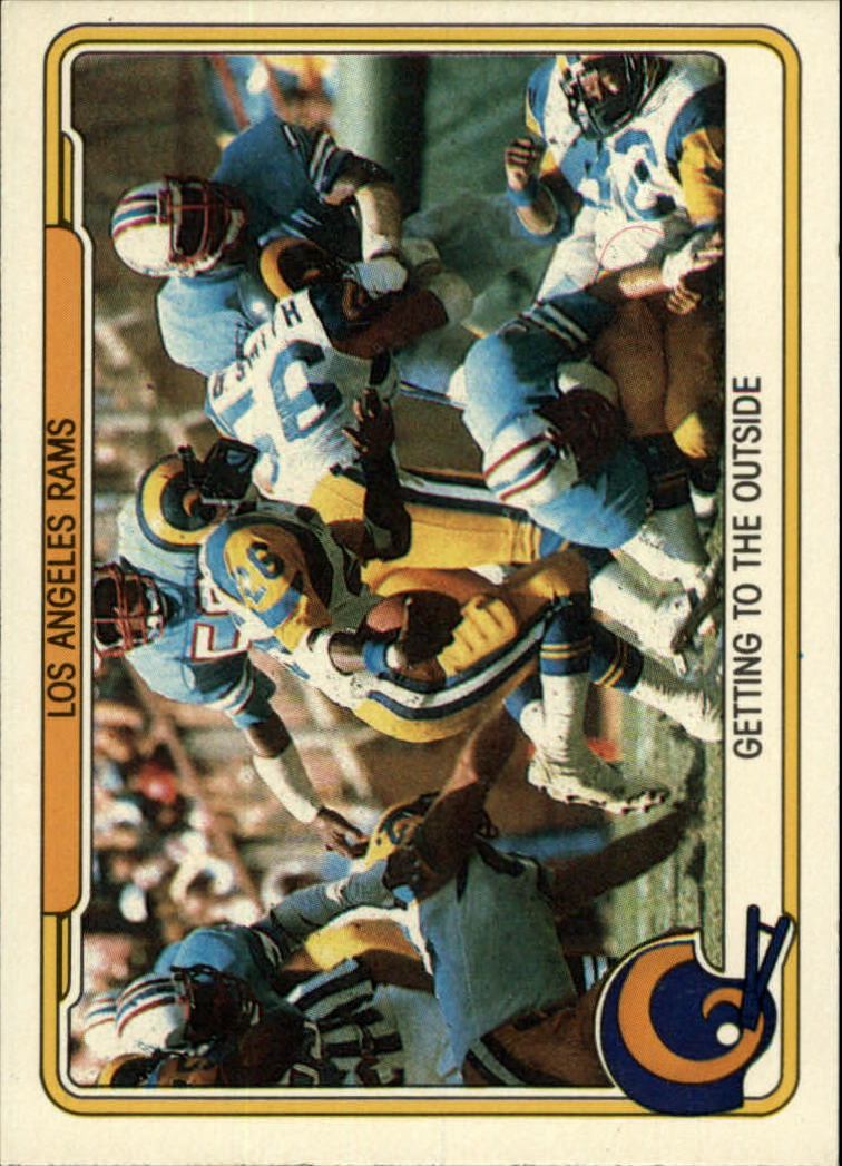 1982 Fleer Team Action #25 Los Angeles Rams