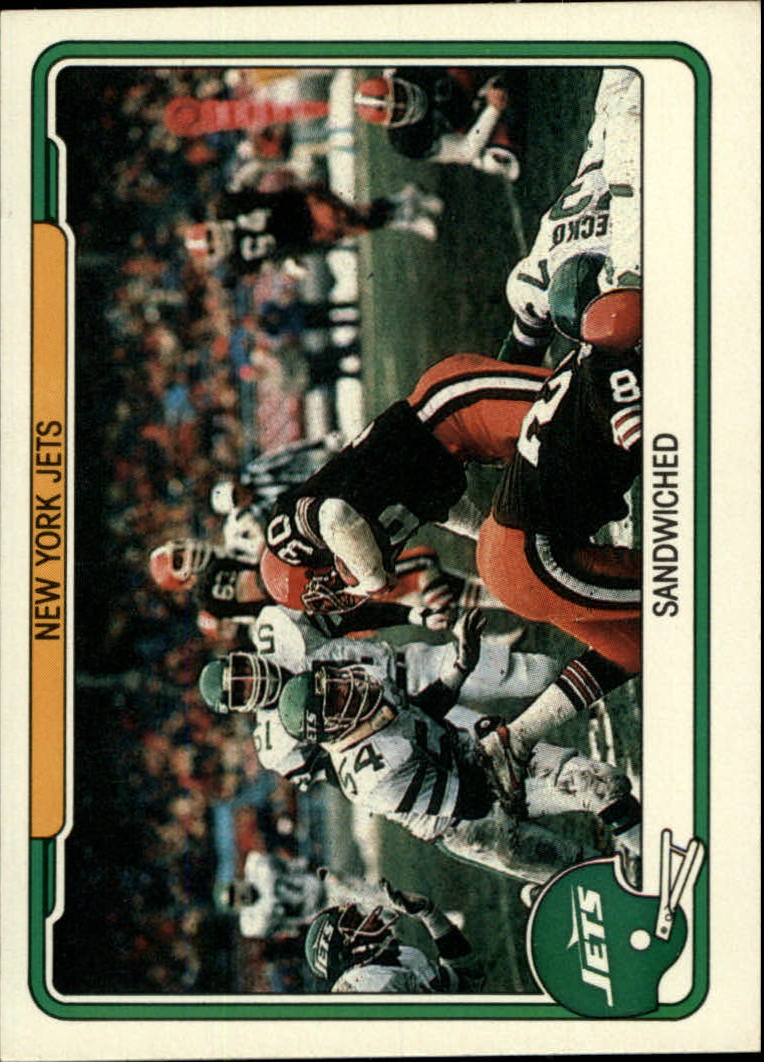 1982 Fleer Team Action #38 New York Jets