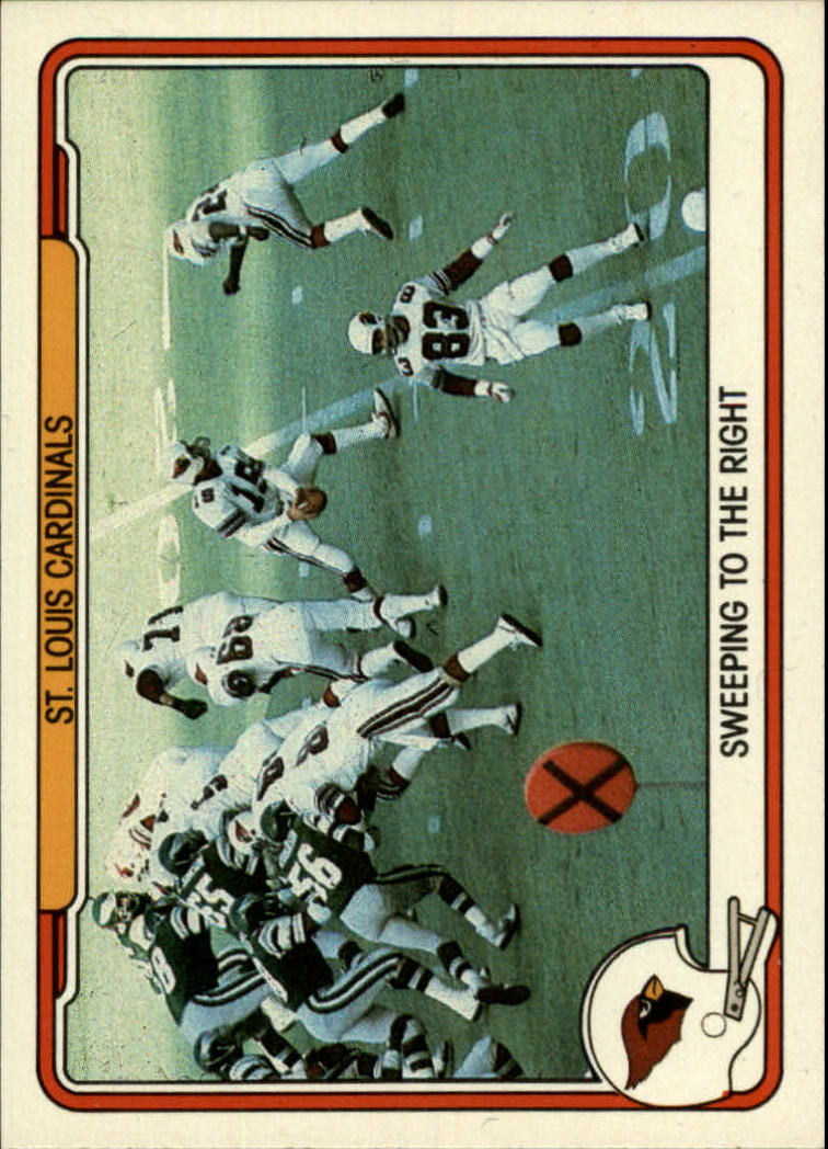 1982 Fleer Team Action #45 St. Louis Cardinals