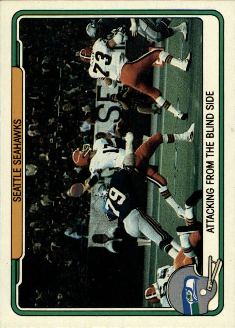 1982 Fleer Team Action #52 Seattle Seahawks