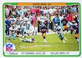 1982 Fleer Team Action #69 Super Bowl XIII