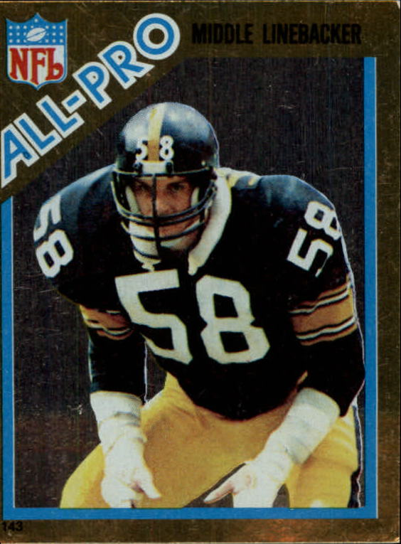1982 Topps Coming Soon Stickers #143 Jack Lambert AP
