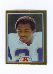 1982 Topps Stickers #223 James Brooks FOIL