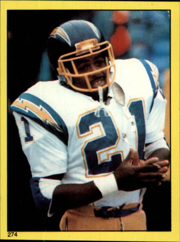 1982 Topps Stickers #274 James Brooks