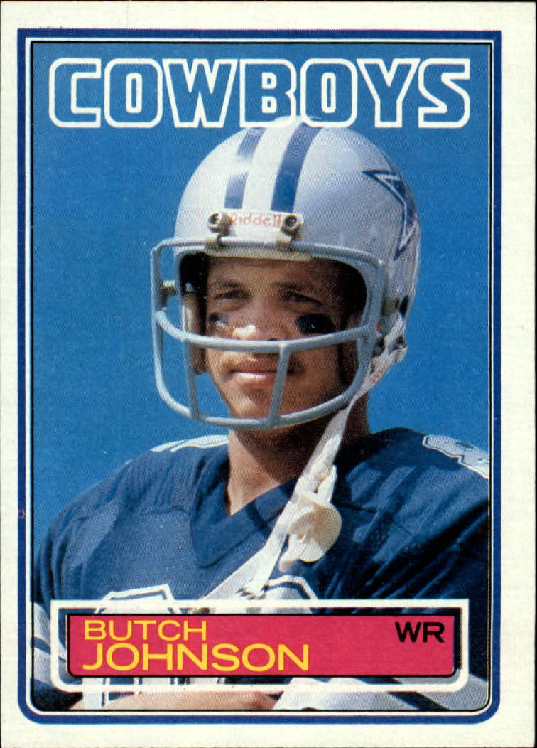1983 Topps #48 Butch Johnson DP