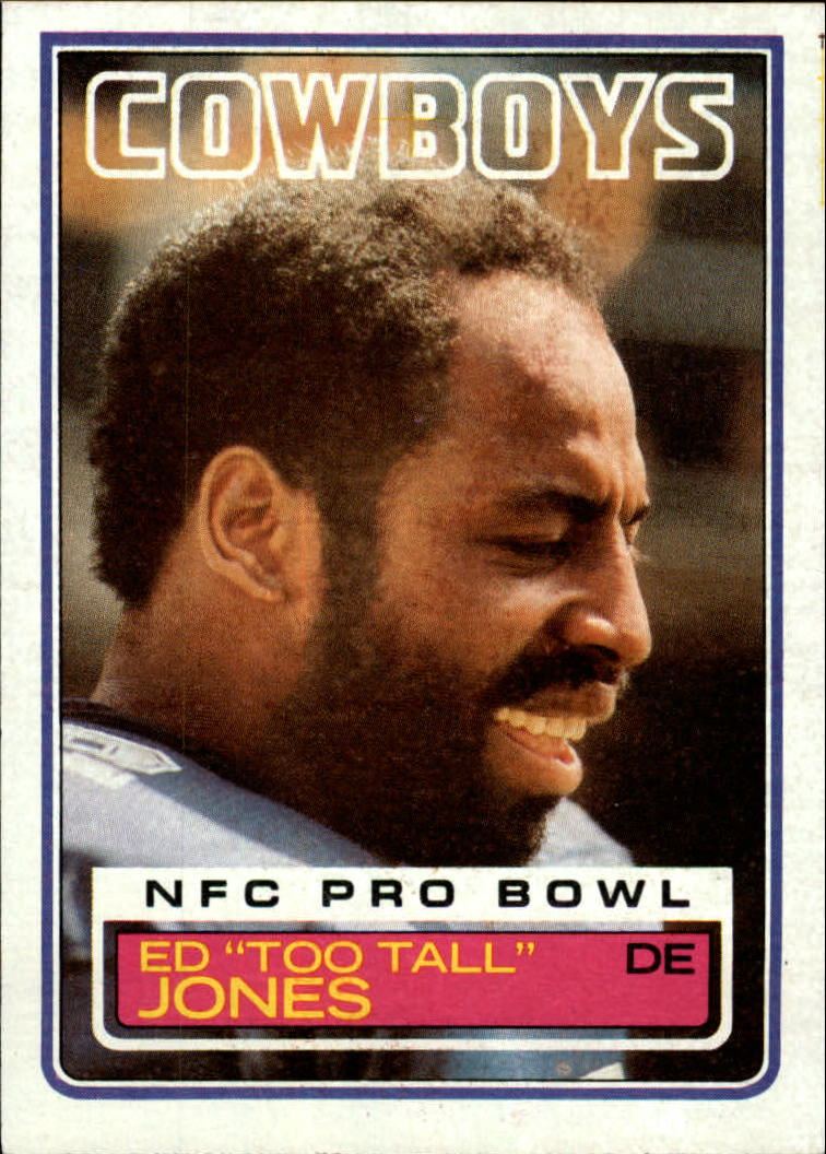 1983 Topps #49 Ed Too Tall Jones DP