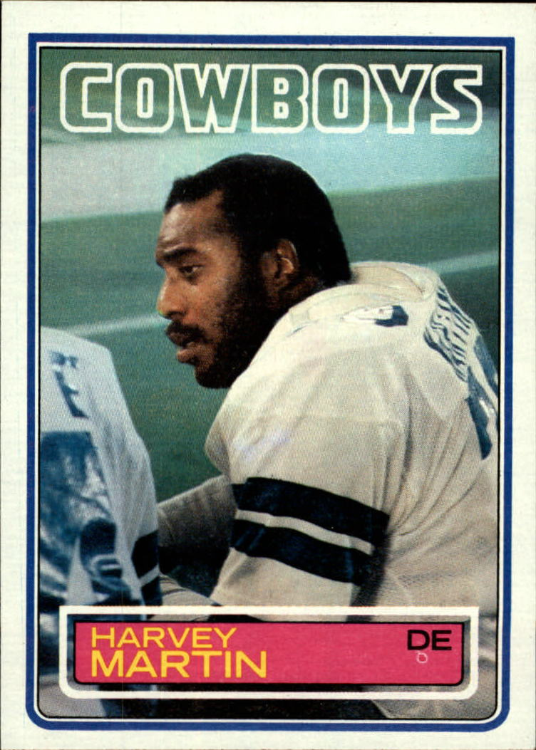 1983 Topps #50 Harvey Martin DP
