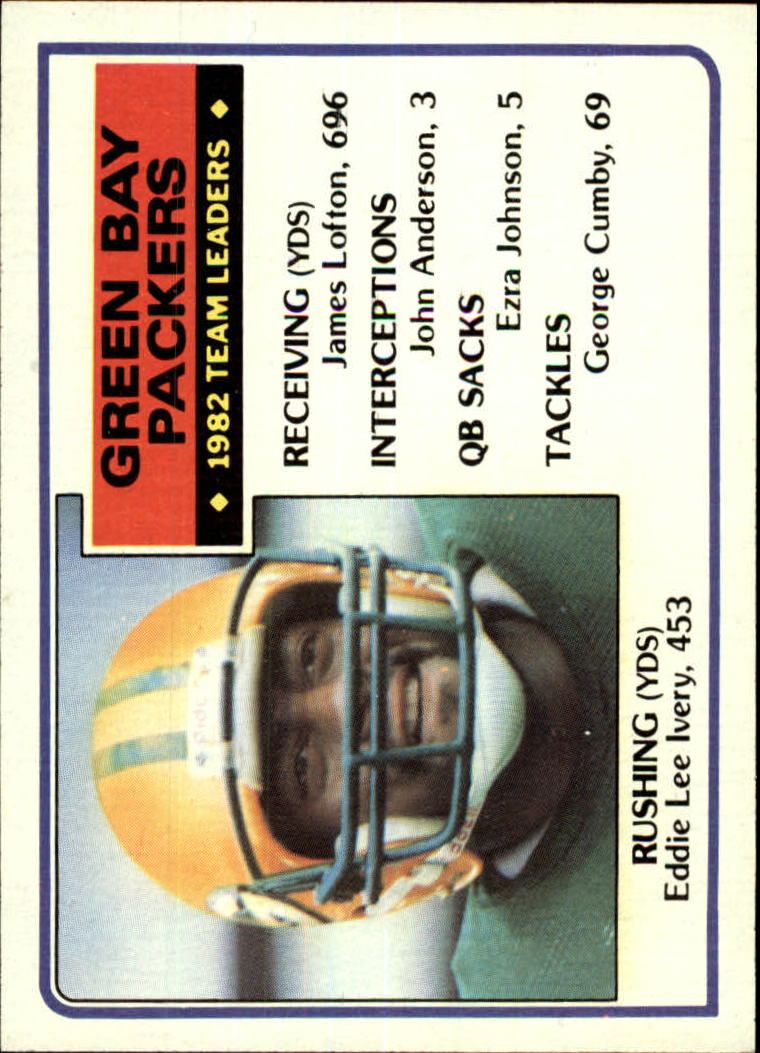 1983 Topps #74 Green Bay Packers TL