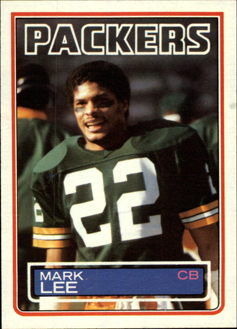 1983 Topps #82 Mark Lee
