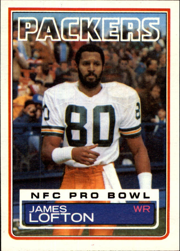 1983 Topps #83 James Lofton