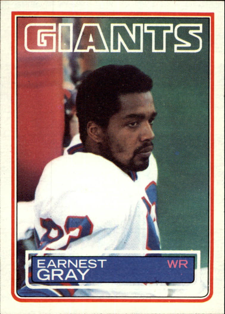 1983 Topps #125 Earnest Gray