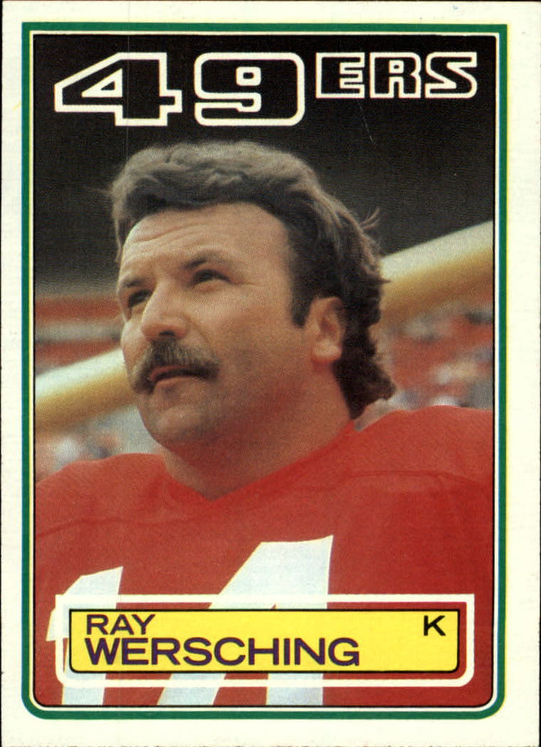 1983 Topps #173 Ray Wersching DP