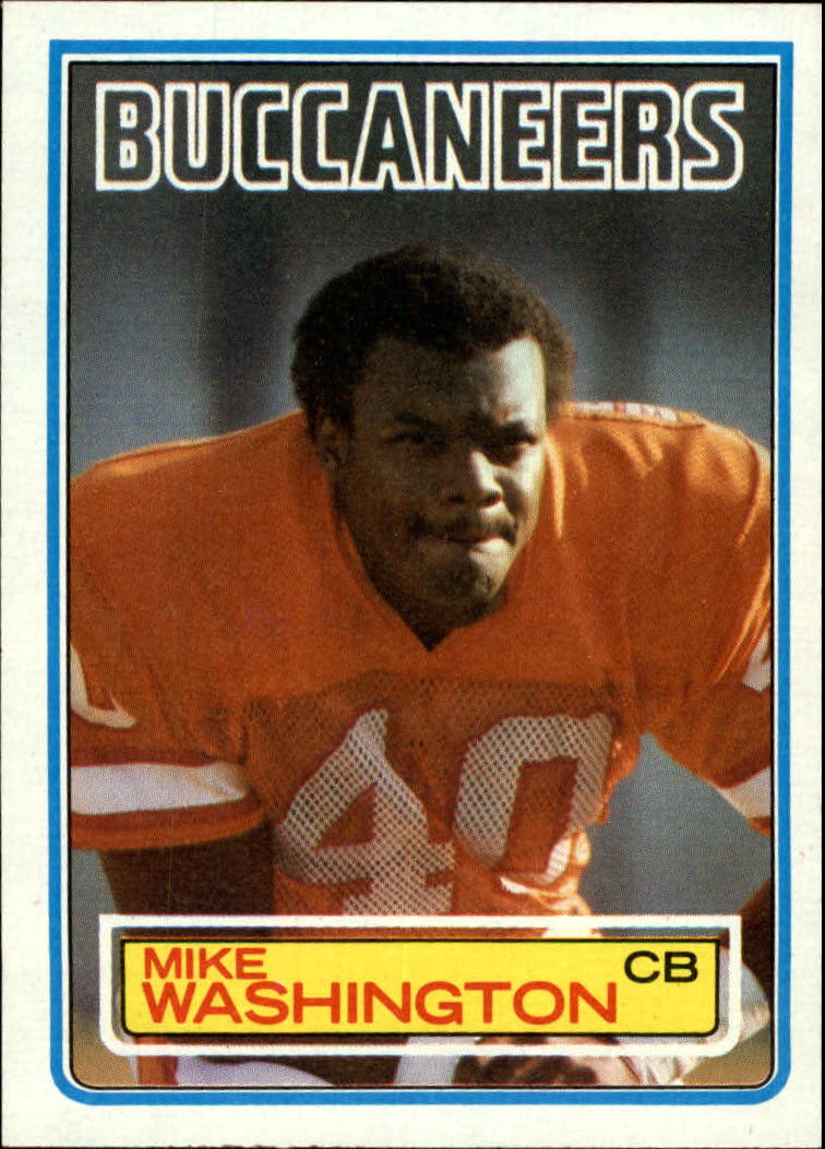 1983 Topps #183 Mike Washington