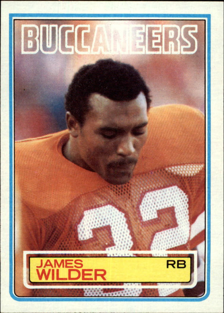 1983 Topps #184 James Wilder