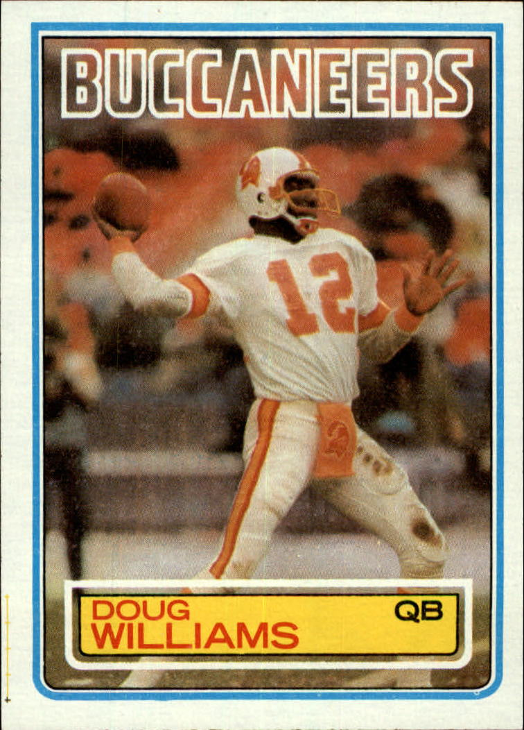 1983 Topps #185 Doug Williams DP