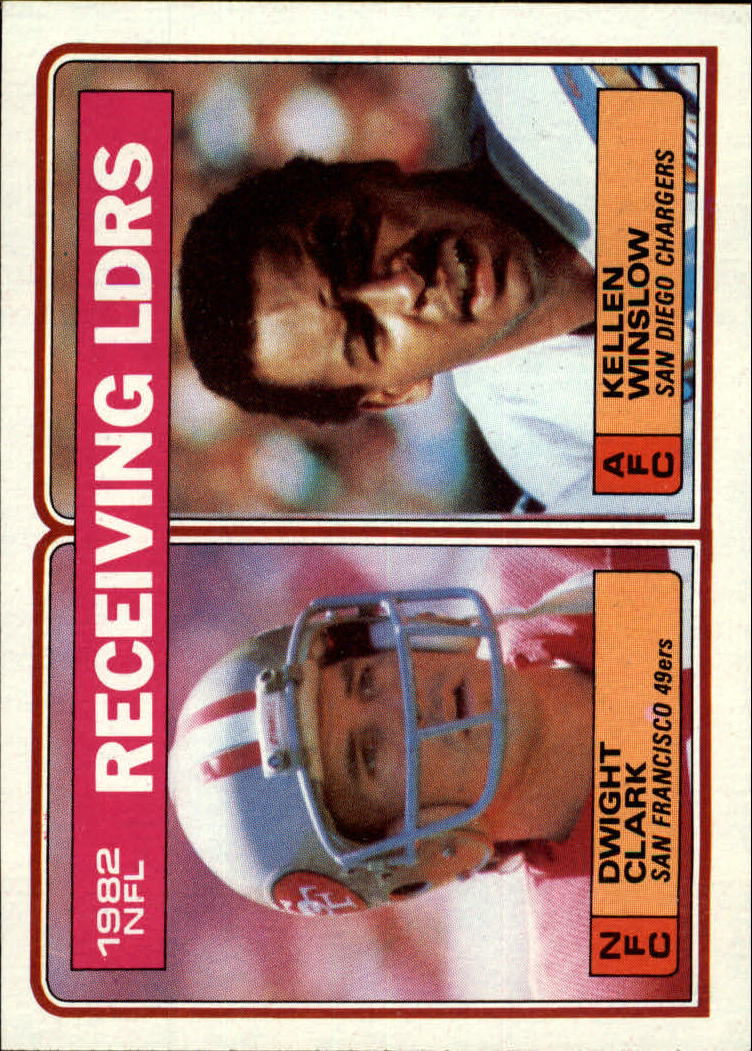 1983 Topps #203 Receiving Leaders