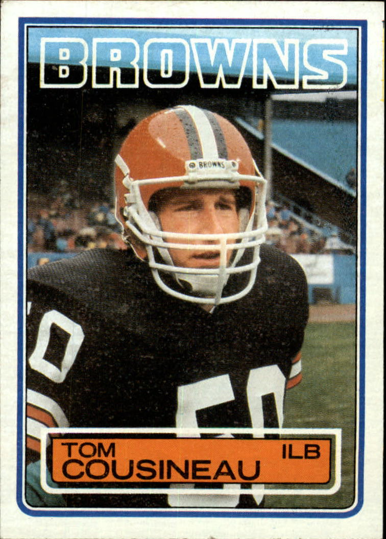 1983 Topps #246 Tom Cousineau DP RC
