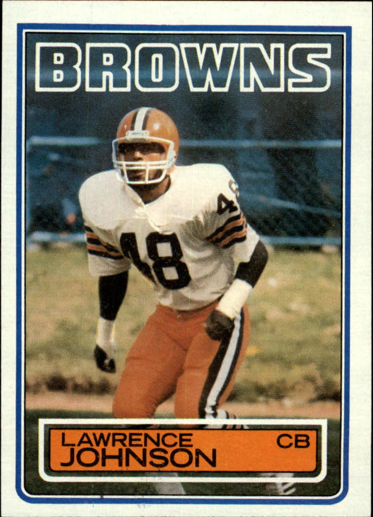1983 Topps #251 Lawrence Johnson DP