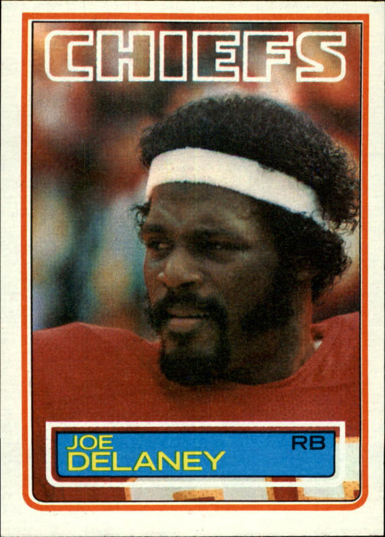 1983 Topps #284 Joe Delaney