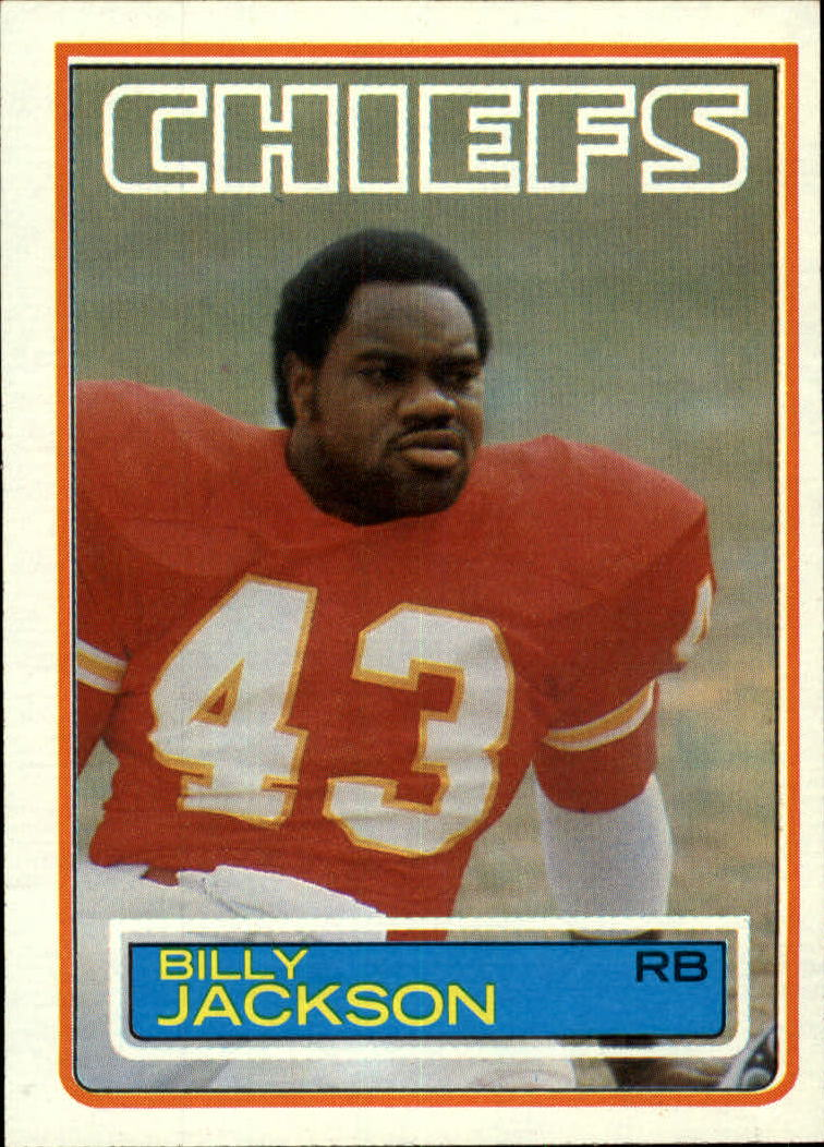 1983 Topps #288 Billy Jackson DP