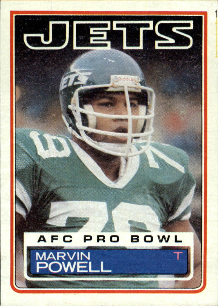 1983 Topps #350 Marvin Powell DP