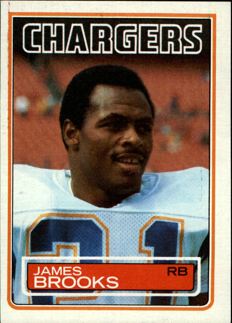 1983 Topps #372 James Brooks