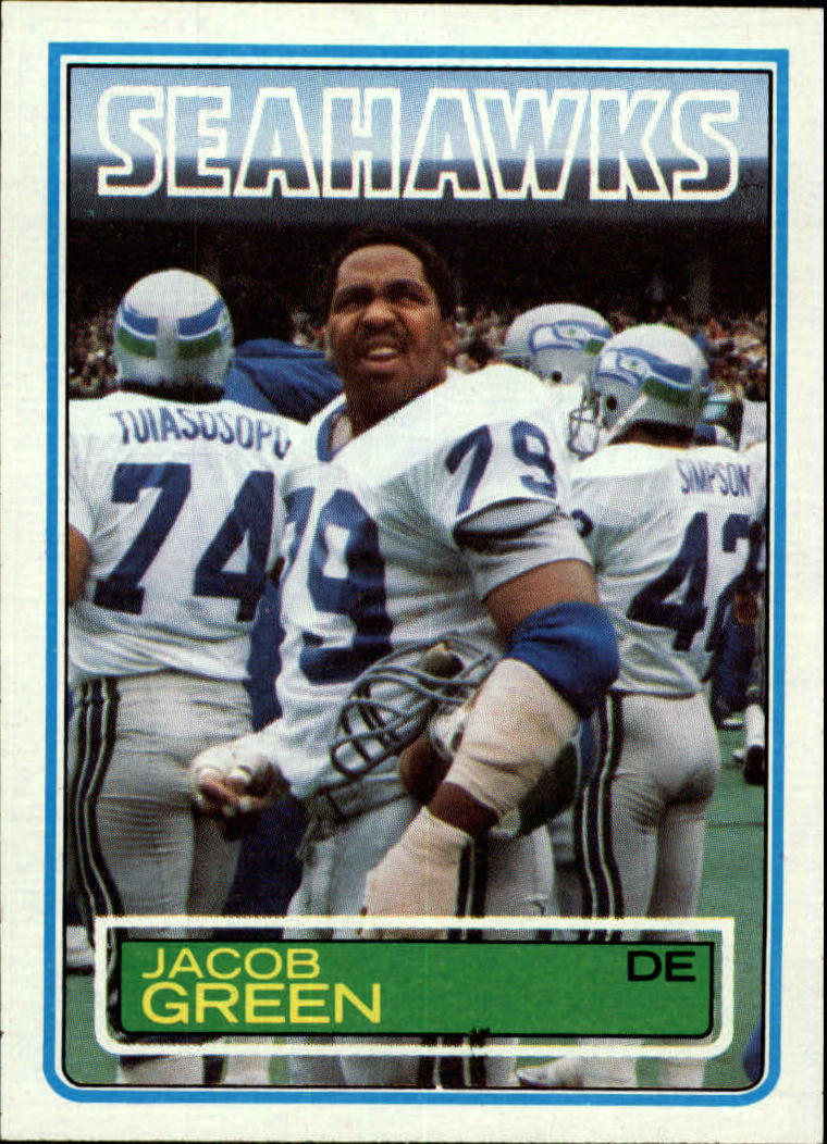 1983 Topps #385 Jacob Green RC