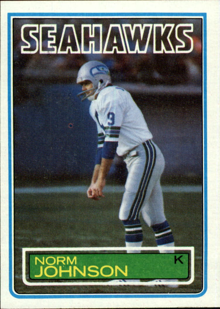 1983 Topps #388 Norm Johnson RC