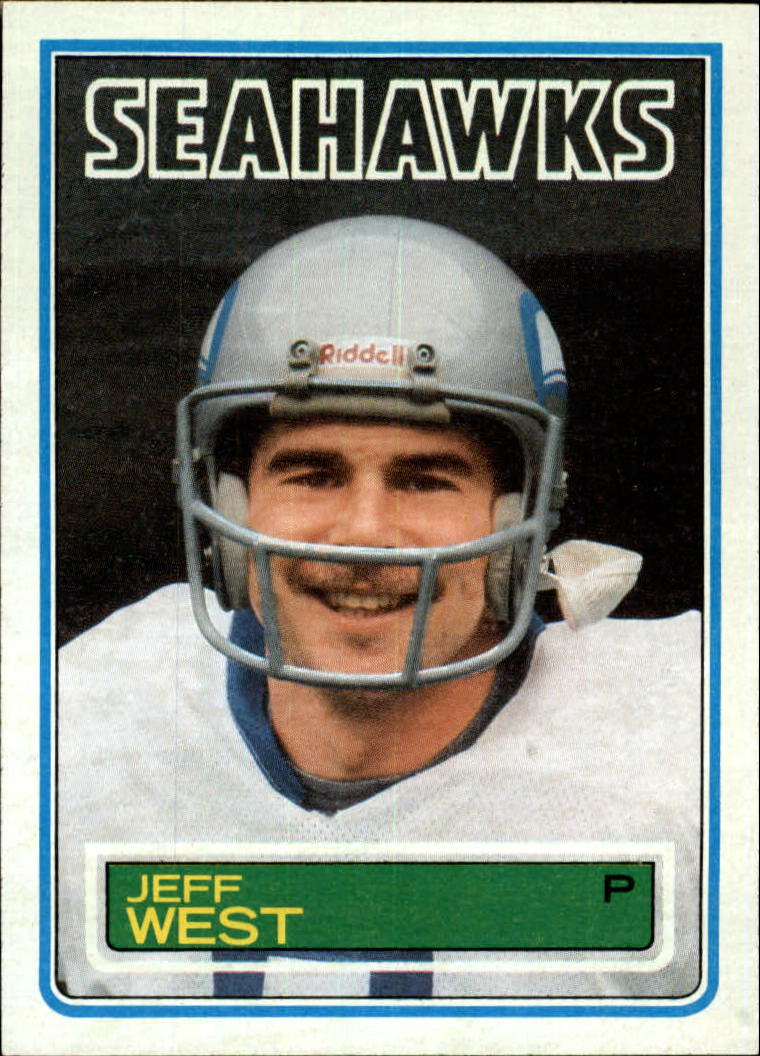 1983 Topps #392 Jeff West DP