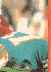 1983 Topps Sticker Inserts #21 Joe Montana back image