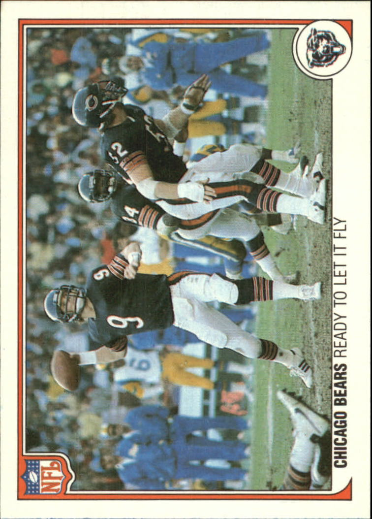 1983 Fleer Team Action #7 Chicago Bears