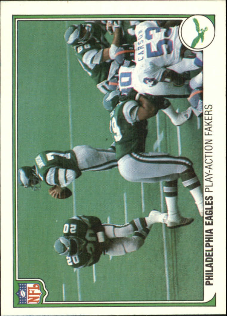 1983 Fleer Team Action #41 Philadelphia Eagles