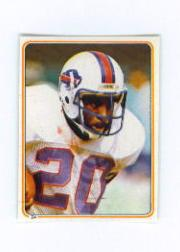 1983 Topps Stickers #24 Joe Cribbs
