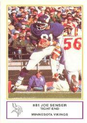 1983 Vikings Police #4 Joe Senser