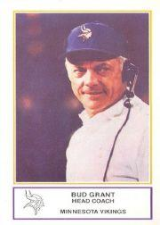 1983 Vikings Police #8 Bud Grant CO