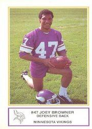 1983 Vikings Police #13 Joey Browner