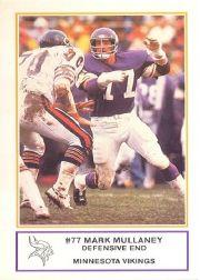 1983 Vikings Police #16 Mark Mullaney