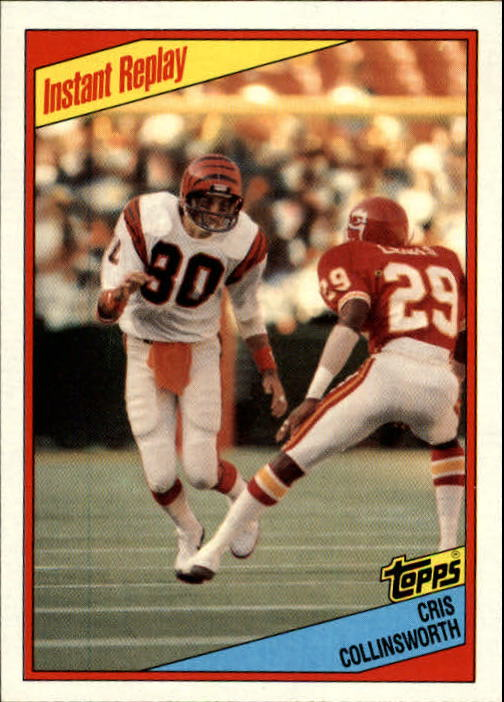 1984 Topps #38 Cris Collinsworth IR