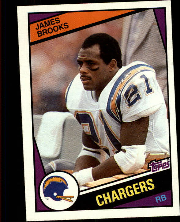 1984 Topps #176 James Brooks