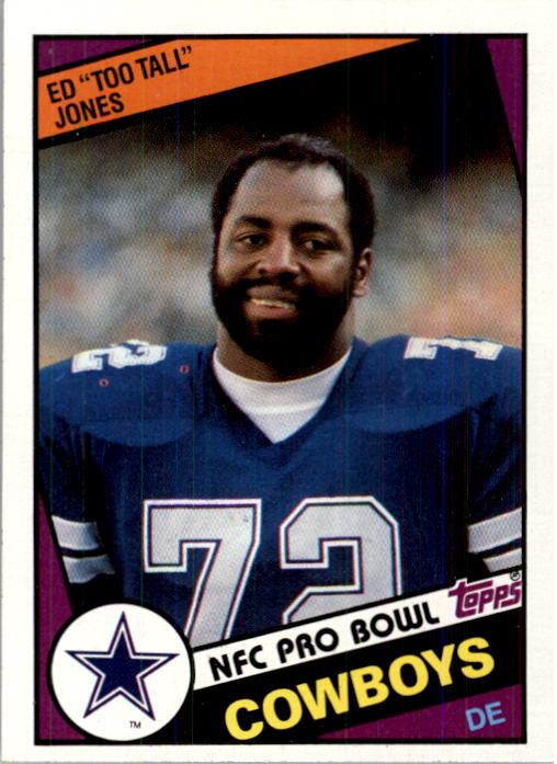 1984 Topps #242 Ed Too Tall Jones