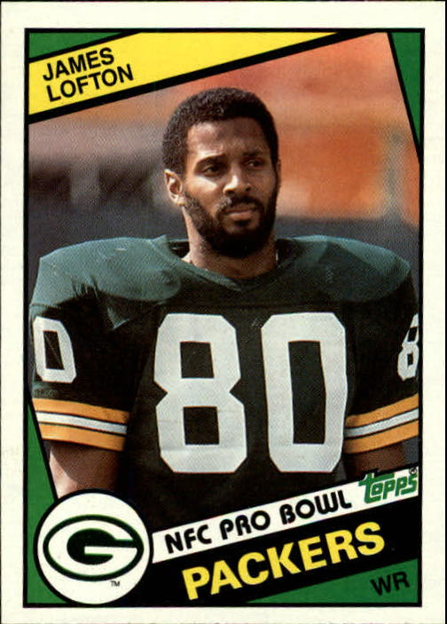 1984 Topps #272 James Lofton